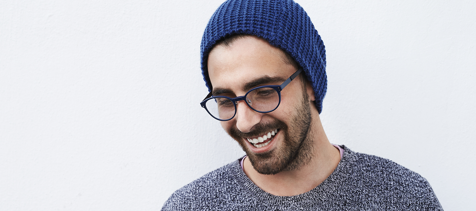 Laumen Optik: Mann mit Brille
